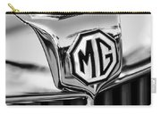 1948 Mg Tc Hood Ornament -767bw Carry-all Pouch