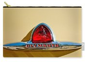 1948 Plymouth Deluxe Emblem Carry-all Pouch