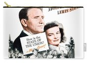 1948 - State Of The Union Motion Picture Poster - Spencer Tracy - Katherine Hepburn - Mgm - Color Carry-all Pouch