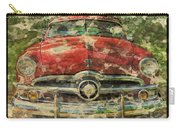 1949 Red Ford Coupe Carry-all Pouch