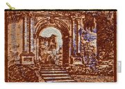 1949 San Francisco Ruins Dominican Republic Stamp Carry-all Pouch