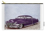 Chopped 1950 Cadillac Coupe De Ville Carry-all Pouch