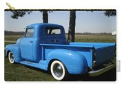 1950 Chevrolet Pick Up Baby Blue Carry-all Pouch