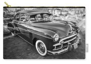 1950 Chevrolet Sedan Deluxe Painted Bw   Carry-all Pouch