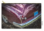 1950 Chevrolet Tailights And Bumper Carry-all Pouch
