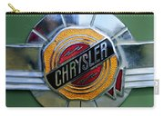 1950 Chrysler Windsor Emblem Carry-all Pouch