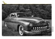 1950 Custom Mercury Black And White Carry-all Pouch