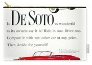 1950 - De Soto Sportsman Convertible - Advertisement - Color Carry-all Pouch
