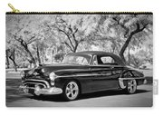 1950 Oldsmobile 88 -004bw Carry-all Pouch