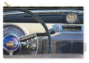 1950 Oldsmobile Rocket 88 Steering Wheel 3 Carry-all Pouch by Jill Reger