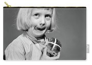 1950s 1960s Blonde Girl Licking Carry-all Pouch