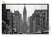 1950s Downtown Philadelphia Pa Usa Carry-all Pouch