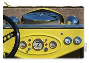 1950s Hot Road Dashboard At Antique Car Carry-all Pouch
