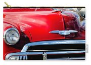 1951 Chevrolet Grille Emblem Carry-all Pouch by Jill Reger