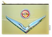 1951 Chrysler New Yorker Convertible Emblem Carry-all Pouch by Jill Reger