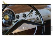 1951 Ford Crestliner Steering Wheel Carry-all Pouch by Jill Reger