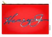 1951 Kaiser Henry J Emblem -460c Carry-all Pouch