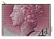 1952-1958 Australia Queen Elizabeth II Stamp Carry-all Pouch
