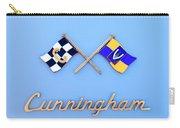1952 Cunningham C-3 Vignale Cabriolet Emblem Carry-all Pouch