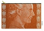 1952 Eva Peron Argentina Stamp Carry-all Pouch