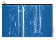 1953 Aerial Missile Patent Blueprint Carry-all Pouch