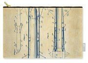 1953 Aerial Missile Patent Vintage Carry-all Pouch