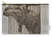 1953 Canada Moose Stamp Carry-all Pouch