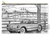 1953 Chevrolet Corvette Carry-all Pouch