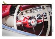 1953 Chevrolet Corvette Steering Wheel Emblem -1400c Carry-all Pouch