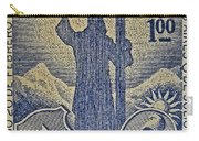 1953 Chile Stamp Carry-all Pouch