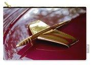 1953 Kaiser Golden Dragon Hood Ornament 3 Carry-all Pouch