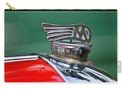 1953 Morgan Plus 4 Le Mans Tt Special Hood Ornament Carry-all Pouch by Jill Reger