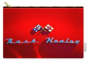 1953 Nash-healey Roadster Emblem Carry-all Pouch