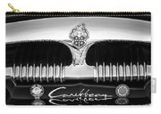 1953 Packard Caribbean Grille Emblem -1217bw Carry-all Pouch