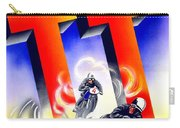 1954 - Assen Tt Motorcycle Poster - Color Carry-all Pouch
