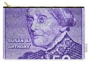 1954-1961 Susan B. Anthony Stamp Carry-all Pouch