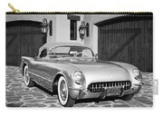 1954 Chevrolet Corvette -183bw Carry-all Pouch