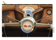1954 Chevrolet Corvette Convertible  Steering Wheel Carry-all Pouch by Jill Reger