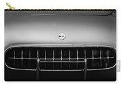 1954 Chevrolet Corvette Grille Emblem -249bw Carry-all Pouch