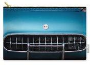 1954 Chevrolet Corvette Grille Emblem -249c Carry-all Pouch
