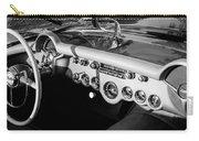 1954 Chevrolet Corvette Steering Wheel -502bw Carry-all Pouch
