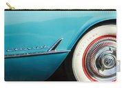 1954 Chevrolet Corvette Wheel Emblem -282c Carry-all Pouch