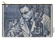 1954 Czechoslovakian Scientist Stamp Carry-all Pouch