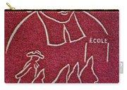 1954 De La Salle Monaco Stamp Carry-all Pouch