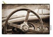 1954 Jaguar Xk120 Roadster Steering Wheel Emblem Carry-all Pouch