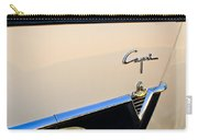 1954 Lincoln Capri Convertible Emblem 2 Carry-all Pouch by Jill Reger