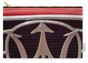 1954 Maserati A6 Gcs Emblem Carry-all Pouch by Jill Reger