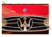 1954 Maserati A6 Gcs Grille Emblem -0259c Carry-all Pouch