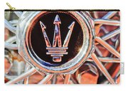 1954 Maserati A6 Gcs Wheel Rim Emblem Carry-all Pouch