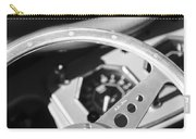 1954 Mg Tf Steering Wheel Emblem -0920bw Carry-all Pouch